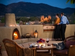 Santa Fe Terrace Loretto Hotel Kevin Syms Photography - Hotel, Resort, Commercial and Architectural photographer based in Sun Valley Idaho