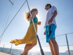 Sailing Couple deck Photography by Kevin Syms Sun Valley, Idaho