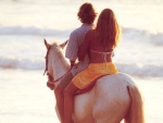 Horseback sunset Tamarindo Beach resort Photography by Kevin Syms Sun Valley, Idaho