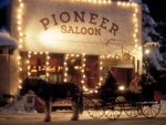Pioneer Saloon Ketchum Idaho Photography by Kevin Syms Sun Valley, Idaho