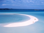 Sandspit walk Musha Cay resort Bahamas Photography by Kevin Syms Sun Valley, Idaho