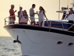 Yacht party Photography by Kevin Syms Sun Valley, Idaho