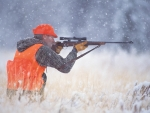 Winter Elk Hunting Photography by Kevin Syms Sun Valley, Idaho